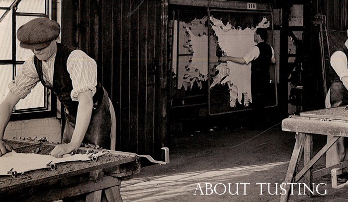 Tusting Tannery 1950s