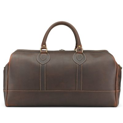 Tusting Weekender Leather Holdall (Small) in Sundance Floodlight Leather